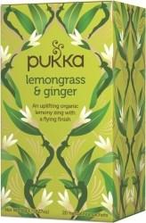 Pukka Te Lemongrass & Ginger Tepåsar 20 st Ekologisk