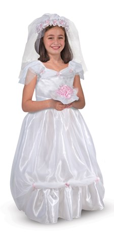 Brudekjole Kostyme, Melissa & Doug