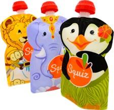 Squiz matpåsar 3-pack, Carneval
