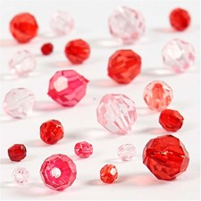Särmähelmet, koko 4-12 mm, aukon koko 1-2,5 mm, 45 g, punaiset sävyt
