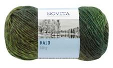 Novita Kajo Garn Mixgarn 100 g, grön 830