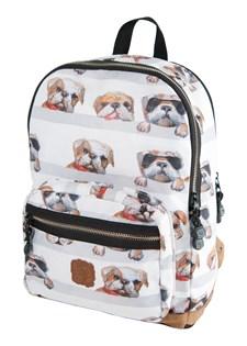 Ryggsäck Dogs, Grå, Pick & Pack