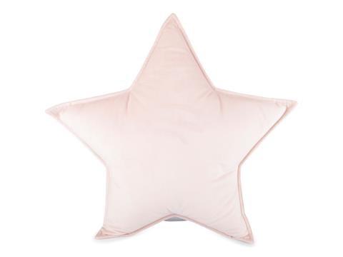 Kudde Sammet Stjärna  rosa  Form Living - barnplädar & kuddar