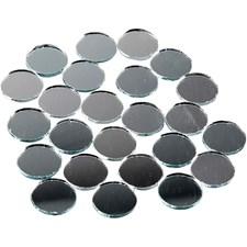 Peilimosaiikit, halk. 18 mm, paksuus 2 mm, pyöreät, 400kpl