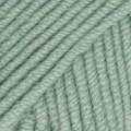 Drops Merino Extra Fine Uni Colour Garn Merinoull 50g Ljust Grågrön (15)