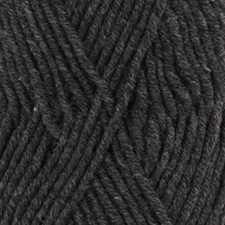 Drops Big Merino Mix Garn Ullgarn 50g Anthracite 03
