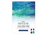 Akryl och Oljeblock Sense Artist Collection 230 gsm A4