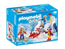 Snöbollskrig, Playmobil Family Fun (9283)