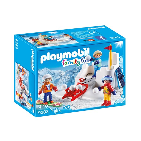 Snöbollskrig  Playmobil Family Fun (9283) - playmobil