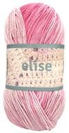 Elise 100g Vaaleanpunainen, lila batiikki (69017)