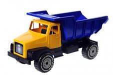 Suuri kuorma-auto keltainen 60 cm, Plasto