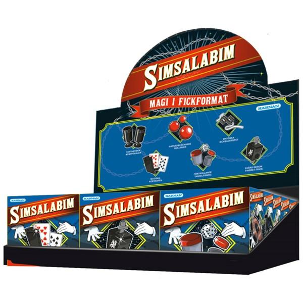 Simsalabim Mini-trollerilåda  Egmont Kärnan - experiment- & aktivitetslådor