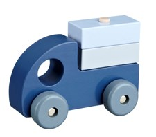 Kids Concept Puuauto Sininen