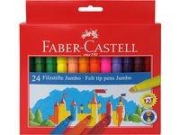 Faber-Castell Fibertusjer Jumbo 24 pakning