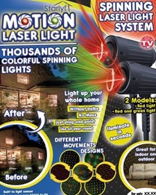 Starlyf Motion Laser Light Show