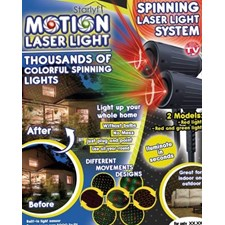 Starlyf Motion Laser Light Show