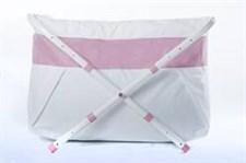 BiBaBad Flexi badkar, 60-80 cm, PinkLine