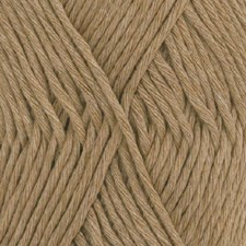 Drops, Cotton Light Uni Colour, Garn, Bomullmiks, 50 g, Brun 22