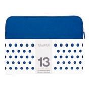 """13"""" NEOPRENE 19TWENTY8 SLEEVE BLUE"""