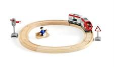 Matkustusjuna-ympyräratasetti, Brio-puurautatie