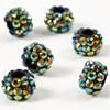 Akrylpärlor med Strass 9x13 mm 6 st