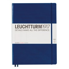 LT NOTEBOOK A4+ Slim Hard navy 121 p. plain