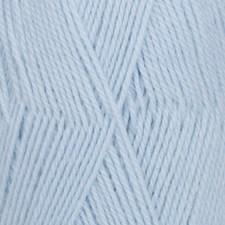 Drops Flora Uni Colour Lanka Villasekoitus 50g Ice Blue 14
