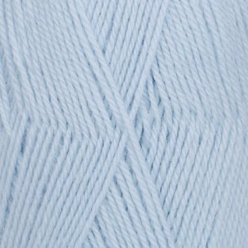 Drops Flora Uni Colour Garn Ullmix 50g Ice Blue 14