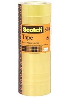 Kontorstejp SCOTCH 508 standard 66mx15mm