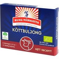 Kung Markatta Köttbuljongtärningar 6 x 11 g Eko