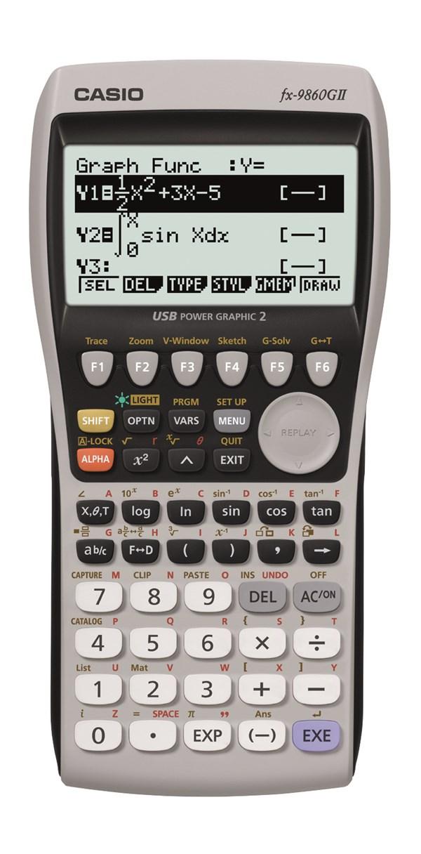 Casio FX-9860GII grafregner