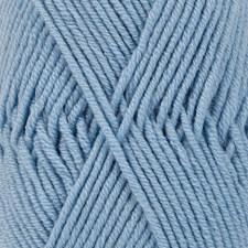Merino Extra Fine Uni Colour Garn Merinoull 50 g Ljusblå (19) Drops