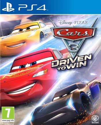 Cars 3 - Driven to Win  Warner Games - playstation 4