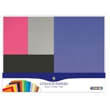 Färgade Papper 195 ark 15 färger