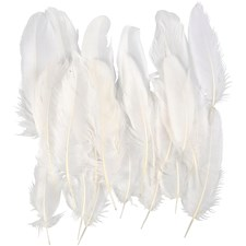 Sulat, n. 15 cm, valkoinen, 70kpl