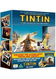 Tintins äventyr: Enhörningens hemlighet + Figurer