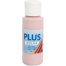 Plus Color-askartelumaali, 60 ml, dusty rose