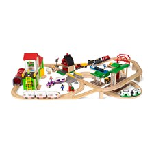Deluxe World set, Brio Träjärnväg (33870)