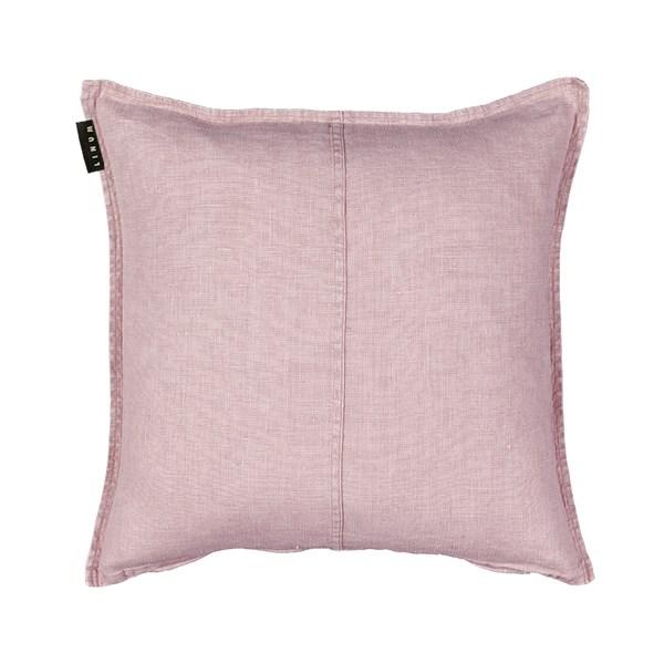 Linum West Kuddfodral 100% Linne 50 x 50 cm Dusty rosa