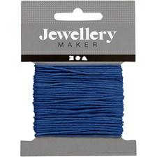 Knyttesnor, tykkelse 1 mm, 10 m, blå