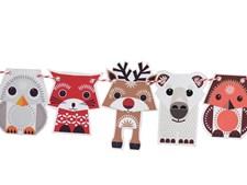 Papirigurer, Festive Animals, Øko, Mibo
