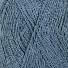 Drops, Belle Uni Colour, Garn, Bomullmiks, 50 g, Mørk jeansblå 13