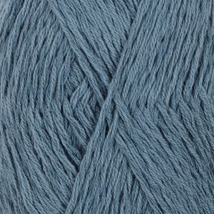 Drops Belle Uni Colour Garn Bomullmix 50g Dark Jeans Blue 13