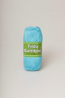 Svarta Fåret Tilda Bamboo Garn Bomull/Bambu 50g Turkos 879