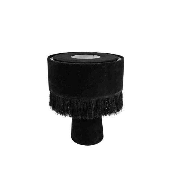 Day Home Bordslampa Mushroom Höjd 31 cm Diameter 25 cm Svart