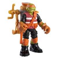 Ooze Chuckin' Mikey -nukke, 12 cm, Ninja Turtles