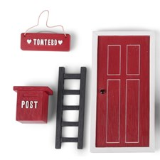 Form Living Tomtenissens Dörr Röd