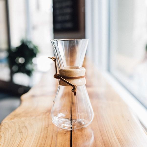 Chemex Kaffebryggare 1 - 3 koppar  Coffee Circle - kaffe & teberödning