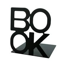 Bokstøtte BOOK svart, 2-pack