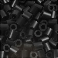 Fotohelmet, koko 5x5 mm, aukon koko 2,5 mm, 1100 kpl, musta (1)